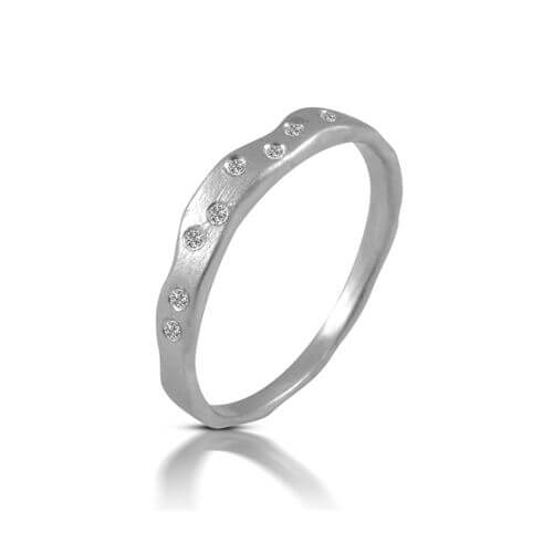טבעת אירוסין חוט השני - RMW0590