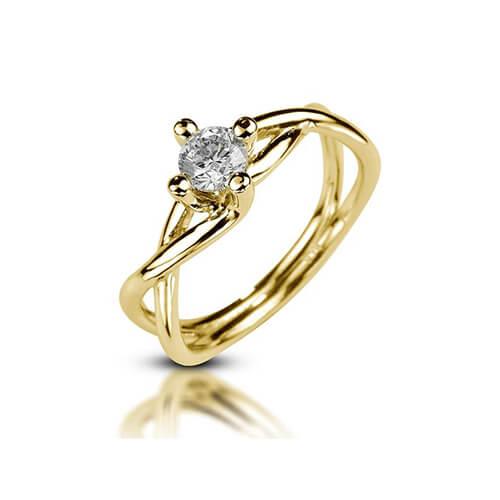 טבעת אירוסין מעוצבת - RPY559
