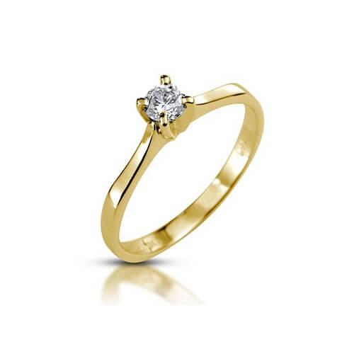 טבעת אירוסין יהלום - RPY622