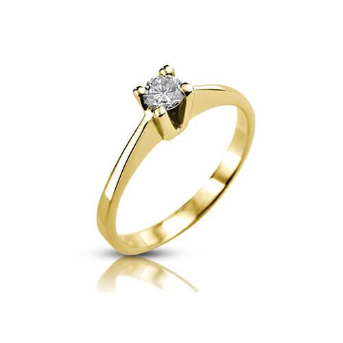 טבעת אירוסין יהלום - RPY0560