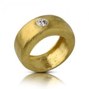 טבעת יהלום קדם - RMY0367
