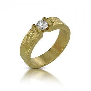 טבעת אירוסין שמש - RDY0451A