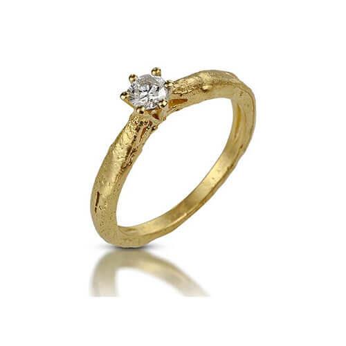 טבעת אירוסין מעוצבת - RDY0634