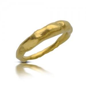 טבעת נישואין עץ הזית - RMY0585