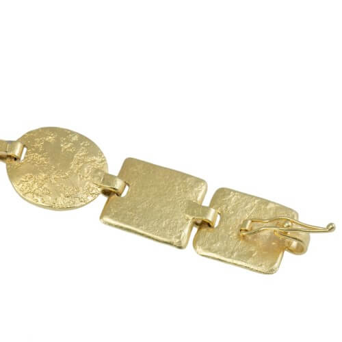 צמיד ציפוי זהב - BP0243/244