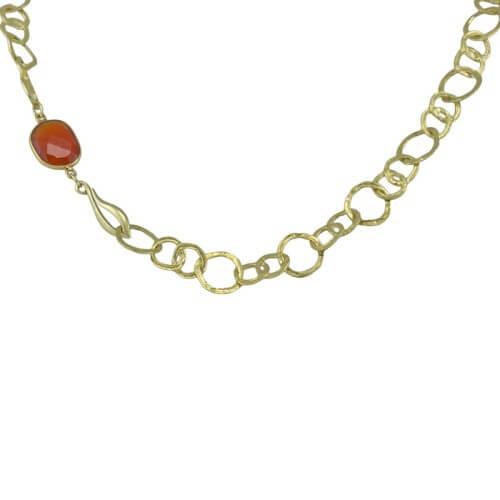 שרשרת ציפוי זהב - NB0216/253CAR
