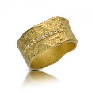טבעת אירוסין חמניה - RMY0515