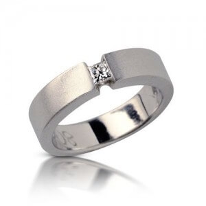 טבעת יהלום קריסטל - RDW0308