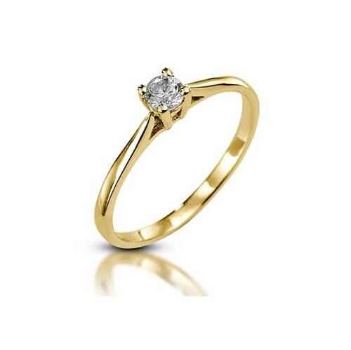 טבעת אירוסין קלאסית - RPY605B