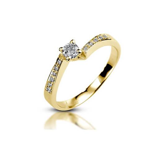 טבעת אירוסין - RPY605A
