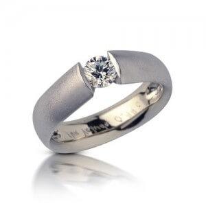 טבעת אירוסין אליפסה - RDW0546