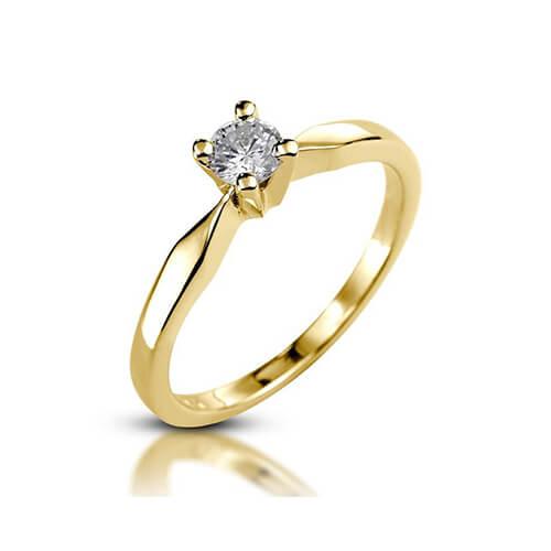 טבעת אירוסין קלאסית - RPYJ1