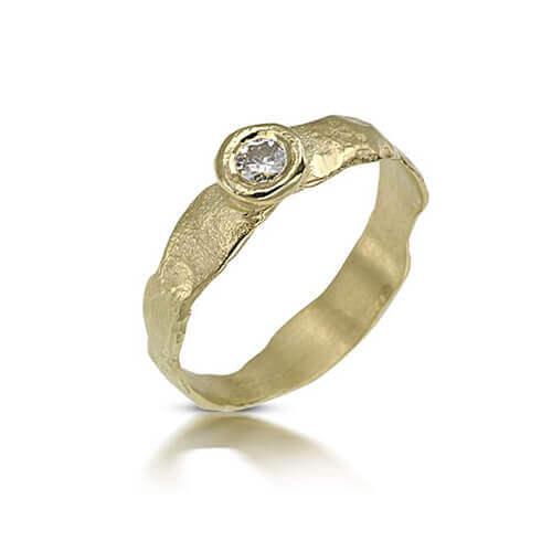 טבעת אירוסין געש - RDY627