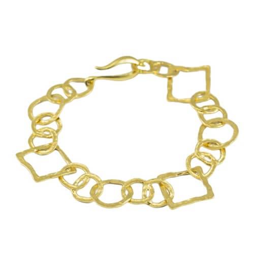 צמיד ציפוי זהב - BP0256/216