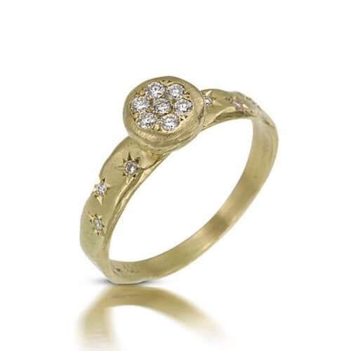 טבעת אירוסין שלג - RDY0622