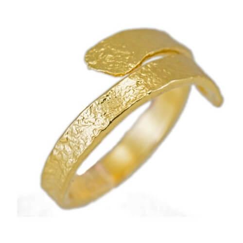 טבעת ציפוי זהב - RP1000
