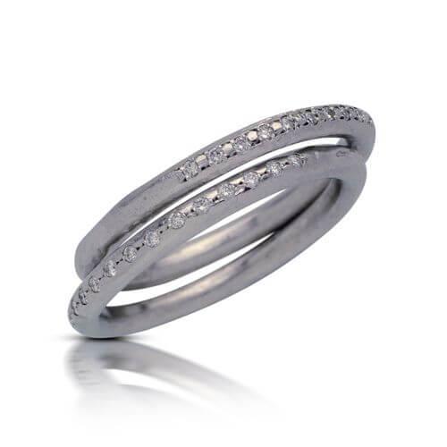 טבעת אירוסין מגנוליה - RMW0387
