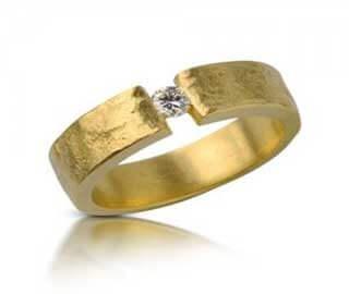 טבעת אירוסין רימון - RDY0451