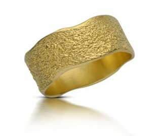 טבעת נישואין חול ים - RMY113