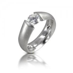 טבעת יהלום אובל - RDW0527