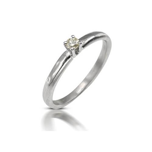 טבעת יהלום נרקיס - RDW0625