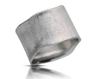טבעת נישואין ים כחול - RMW0257