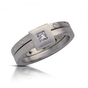 טבעת פריחה לבנה - RDW0331