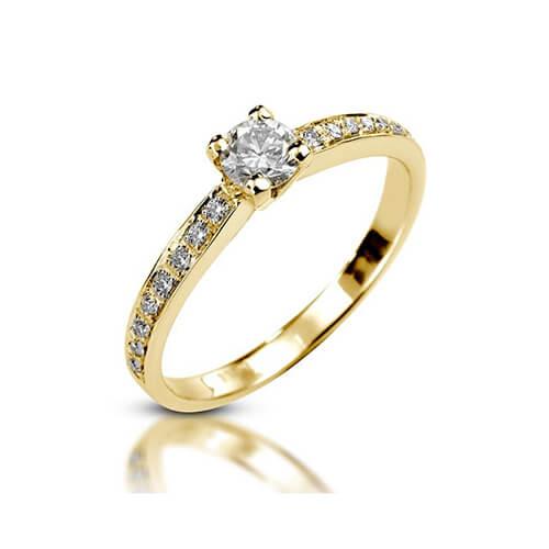 טבעת אירוסין יהלום - RPY14
