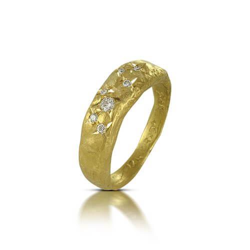 טבעת אירוסין ניצוצות - RMY0607
