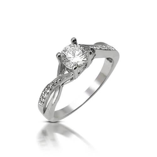 טבעת אירוסין פיתולים - RPW283